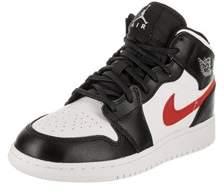 Jordan Nike Kids Air 1 Mid Bg Basketball Shoe.
