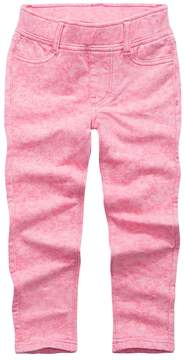 Levi's Toddler Girls Pink Acid Wash Leggings