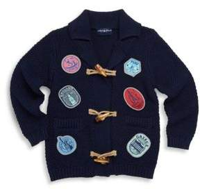 Andy & Evan Little Boy's Cotton Toggle Cardigan