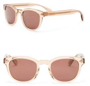 Oliver Peoples Sheldrake 47mm Retro Sunglasses