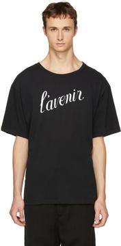 Ann Demeulemeester Black Lavenir T-Shirt
