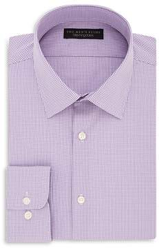 Bloomingdale's The Men's Store at Micro Gingham Regular Fit Dress Shirt - 100% Exclusive