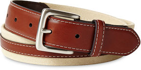 Izod Tan Canvas Belt - Boys 8-20