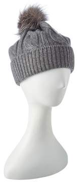 Sofia Cashmere sofiacashmere Sofiacashmere Cashmere Chunky Cable Hat.