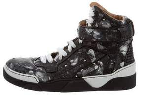 Givenchy Printed High-Top Sneakers