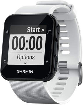 Garmin Unisex Forerunner 35 White Silicone Strap Smart Watch 41mm 010-01689-03