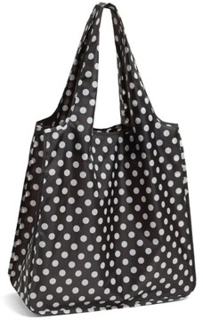 Kate Spade New York 'Polka Dot' Reusable Shopping Tote - Black