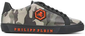 Philipp Plein camouflage sneakers