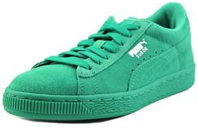 Puma Suede Jr Youth US 6 Green Sneakers