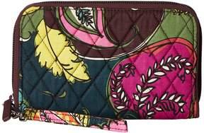 Vera Bradley RFID Grab Go Wristlet Wristlet Handbags - AUTUMN LEAVES - STYLE