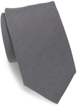 Charvet Silk & Linen Twill Tie