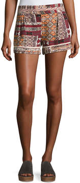 Bishop + Young Desert Printed Pull-On Shorts, Multi