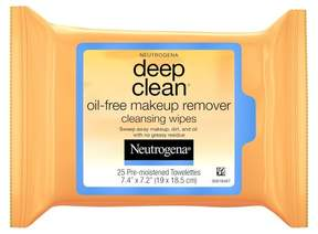 Neutrogena® Deep Clean® Oil-Free Makeup Remover Cleansing Face Wipes - 25ct