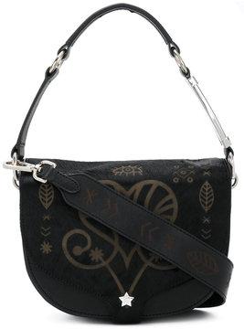 Ash embellished star tote bag