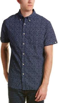 Jachs Classic Fit Woven Shirt