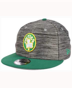 New Era Boston Celtics Blurred Trick 9FIFTY Snapback Cap