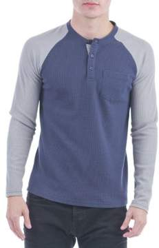 Sovereign Code Jeter Colorblocked Henley Shirt