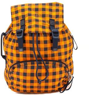 Louis Vuitton Orange Damier Nylon Aventure Light Pack Backpack - ORANGE - STYLE