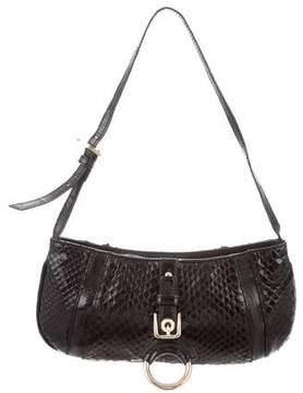 Dolce & Gabbana Snakeskin Shoulder Bag