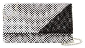 Jessica McClintock Cassie Beaded Chain Colorblock Clutch