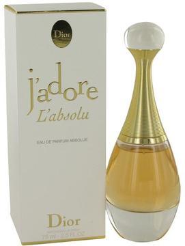Christian Dior Jadore L'absolu by Eau De Parfum Spray for Women (2.5 oz)