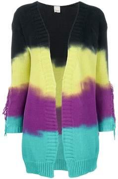 Pinko dye striped cardigan