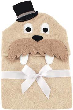 Hudson Baby Walrus Animal Fleece Hooded Towel