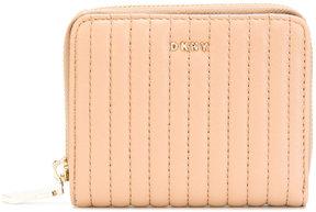Donna Karan quilted wallet
