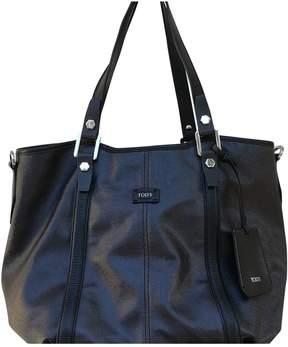 Tod's Metallic Synthetic Handbag