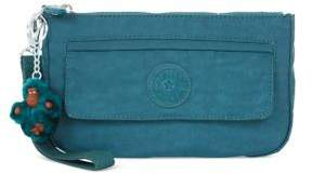 Kipling Alonzo Top Zip Wristlet - FARM GREEN - STYLE