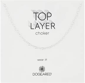Dogeared Top Layer Heart Chain Choker Necklace Necklace