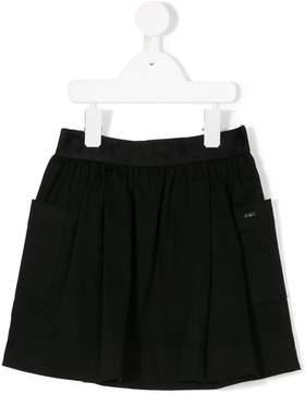 Karl Lagerfeld pleated shorts