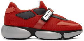 Prada Red Cloudbust Sneakers