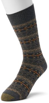 Gold Toe GOLDTOE Men's GOLDTOE Fairisle Crew Socks