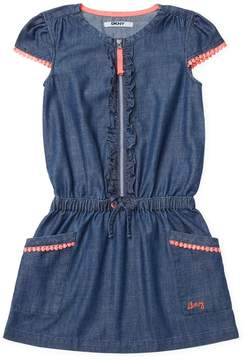 DKNY New Lightweight Dress - Dark Blue/Navy, Size 3-6m