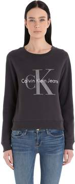 Calvin Klein Jeans True Icon Terrycloth Tencel Sweatshirt