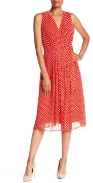 Anne Klein Polka Dot Midi Dress