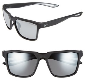 Nike Men's Bandit 59Mm Sunglasses - Matte Black/ Wolf Grey