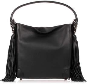 Christian Louboutin Eloise Hobo black leather bag