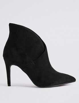 Marks and Spencer Stiletto Fold Over Ankle Boots