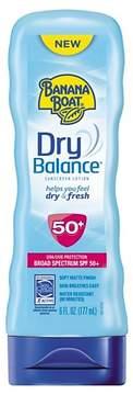 Banana Boat Dry Balance Sunscreen Lotion - SPF 50 - 6oz