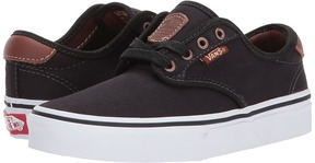 Vans Kids Chima Ferguson Pro Black) Boys Shoes