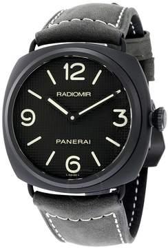Panerai Radiomir Ceramica Black Dial Matte Ceramic Men's Watch