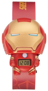 Marvel BulbBotz Kids' Iron Man Digital Light-Up Watch