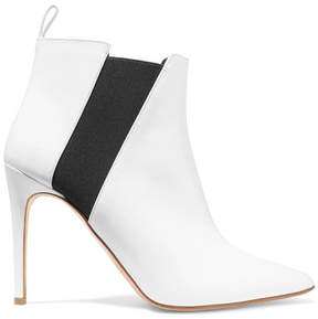 Rupert Sanderson Critic Patent-leather Ankle Boots - White