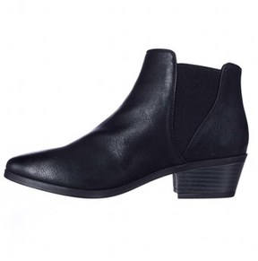 Call it SPRING Womens Mollian Round Toe Ankle Fashion Boots, Black, Size 8.0.