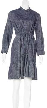 Band Of Outsiders Long Sleeve Printed Dress w/ Tags