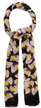 Diane von Furstenberg Floral Silk Scarf