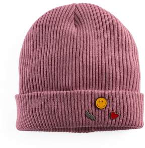 Mudd Women's Pin Trio Beanie
