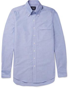 Drakes Drake's Slim-Fit Button-Down Collar Cotton Oxford Shirt